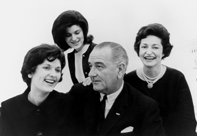 LBJ and Family